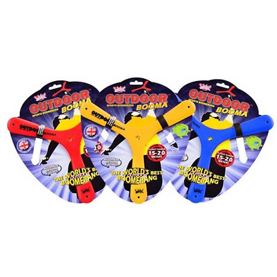 Wicked Booma Boomaring Outdoor Polymer Boomerang Sports Flight Range Of 15-20m