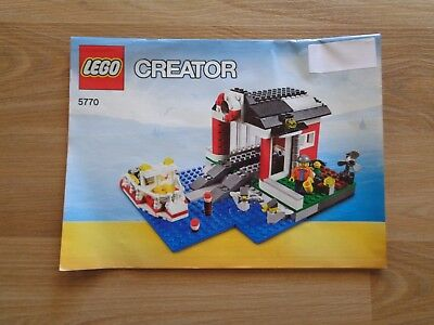 Lego Creator 5891 Apple Tree House Instruction Book 3 Only No