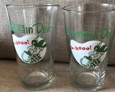 2 Mountain Dew Ha-hooo! Glass Cups Pepsi Co. Inc. 2006
