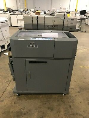 Used Duplo DC-615 Slitter Cutter Creaser - TN