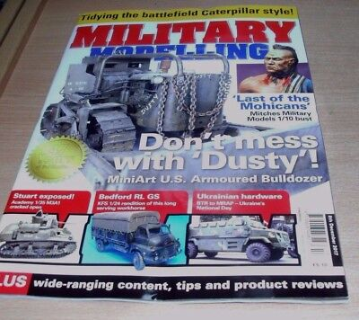 Military Modelling magazine 8th DEC 2017 Bedford RL GS, Ukrainian Hardware &more
