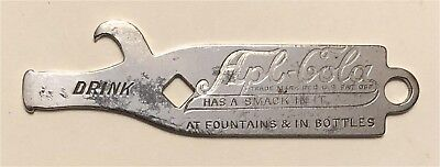 1910s Apl-Cola Has A Smack To It At Fountains Bottle Shaped Bottle Opener A-28