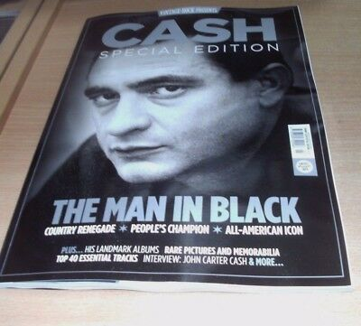 Vintage Rock magazine presents Johnny Cash Special Edition 2017 The Man in Black