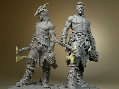 Resin Figure Kit 75mm Butcher Garage Resin Model Kit