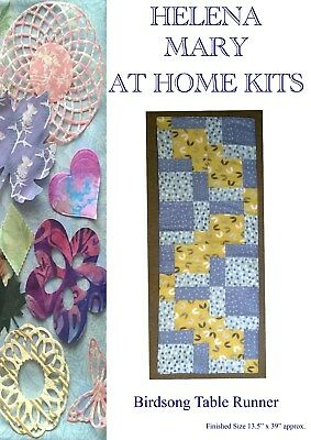 Helena Mary Table Runner Making Kit Complete Kit - Birdsong Table Runner