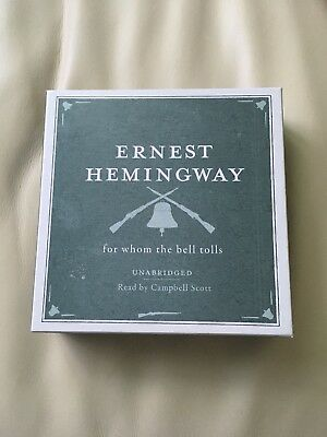 For Whom the Bell Tolls CD Audio Book 16 CD's Ernest Hemingway Collection