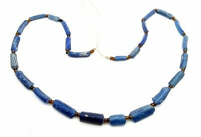 Viking Glass Beaded Necklace - Very Rare Wearable Artifact Stunning - Q35