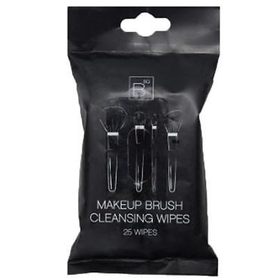 Professional Cleansing Wipes 25 Pack Of Makeup Brush Cleaning BSQ Cleaner MUA