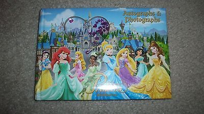 Disney Princess Autograph and Photo Book - Walt Disney World Sealed Brand New