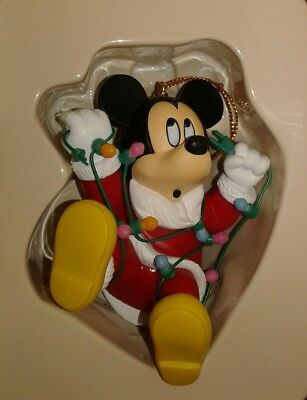 Collectible Mickey Mouse Disney Magic Grolier Ornament With Box #26231-101