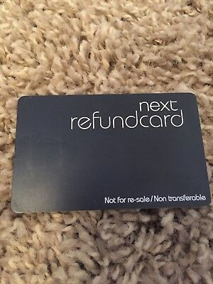 Next Credit Note Gift Voucher Card Coupon £36.50