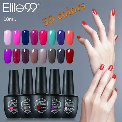 Elite99 10ml Gel Nail Art Polish Varnish LED UV Esmalte de uñas Soak Off