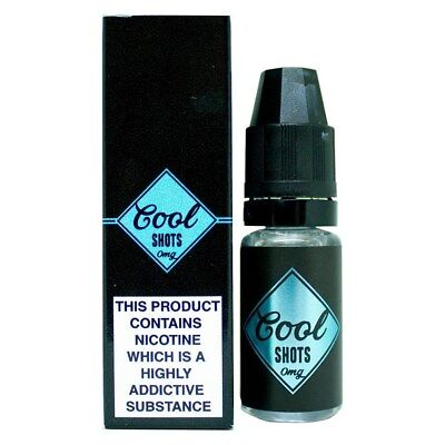 X5 Koolada/menthol E-Cig Eliquid 10ml Nicotine Shot Cool nic Shots 0mg 15mg 18mg