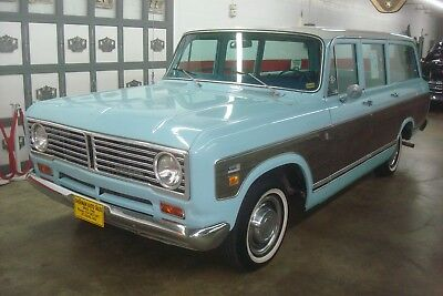 1973 International Harvester 1010 WITH FACTORY CUSTOM WOOD GRAIN DECALS & A/C  ORIGINAL *WELL PRESERVED VEHICLE *91,168 MILES *COMPLETELY ORIGINAL