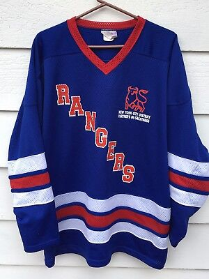 New York Rangers Club NYC Hockey Recreation Jersey (XL)