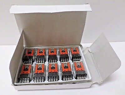 Omron MY4 DC100/110 (S) General Purpose Relay, 14 Poles, 250VAC, 30VDC BOX OF 10
