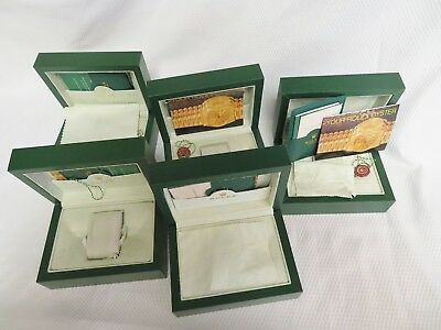 Lot of 5 Gift Boxes Good for Rolex & Other Watches