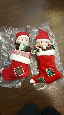 Precious Moments Jingles Plush Doll Soft Toy Christmas Stocking