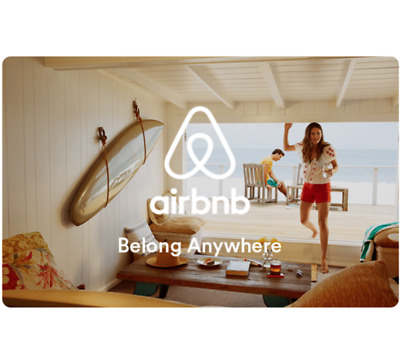 Get a $100 AirBnB Gift Card for only $92 - Email delivery