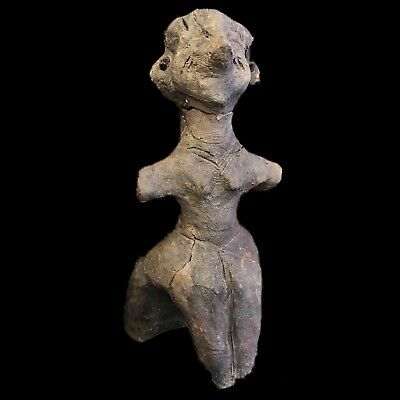 Ultra Rare Stone Age Ancient Neolithic Anthromorphic Vinca Doll, 4500BC (3)