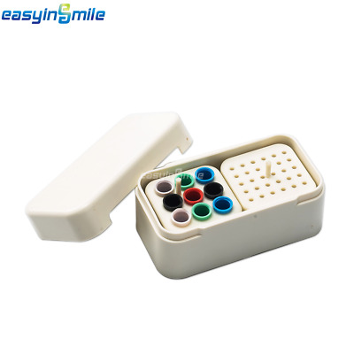 1xDental Endo Disinfection Case EASYINSMILE Autoclave Keep30 H-File/reamer White