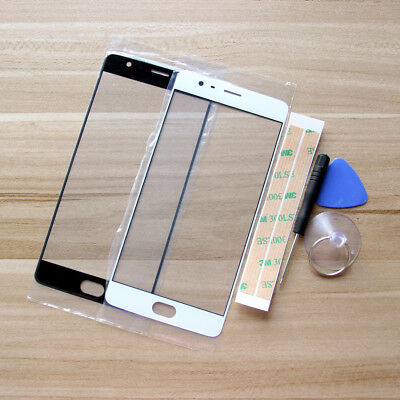 Front Outer Screen Glass Lens Panel Replacement Parts For OnePlus 3 1+3/3T 5.5""