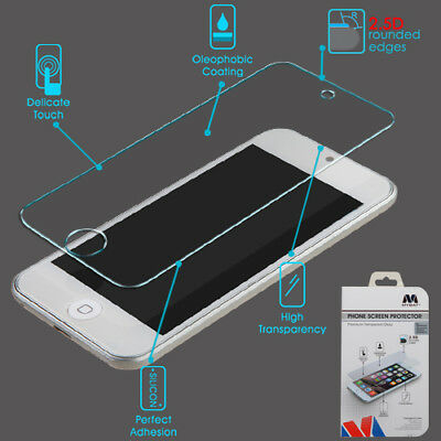 Apple iPod Touch 5 6th Gen Shockproof Tempered Glass Screen Protector Guard 2.5D