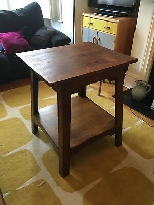 Beautiful Oak 'arts and crafts' table