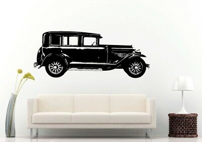 Wall Room Decal Vinyl Sticker American Muscle Old Antique Classic Sport Car L688