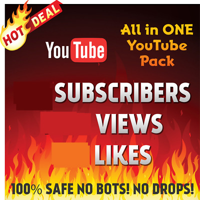 YouTube-Views-likes-subscribers-High Retention-guarantee -All in one