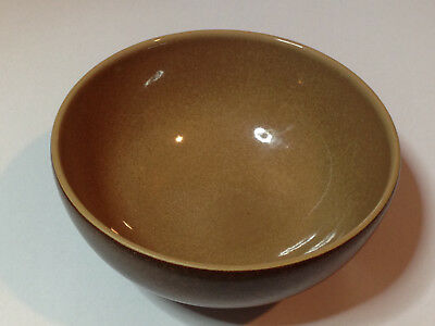 "Denby Cinnamon 5"" Rice bowl in excellent condition made in England"