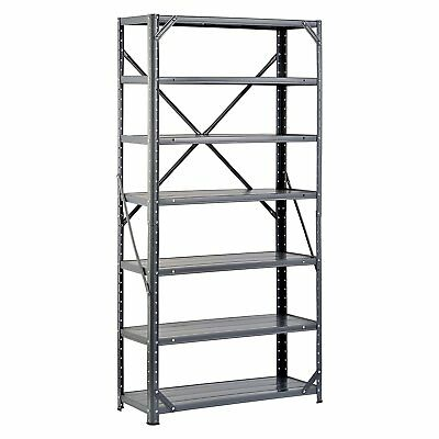 7-Shelf Heavy Duty Metal Rack Steel Shelving Unit Garage Storage Organizer 750lb