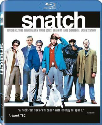 Snatch [Blu-ray] [2009] [Region Free] [DVD][Region 2]