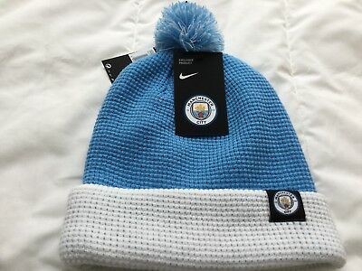Nike Manchester City Official,exclusive Football Pom Beanie Hat