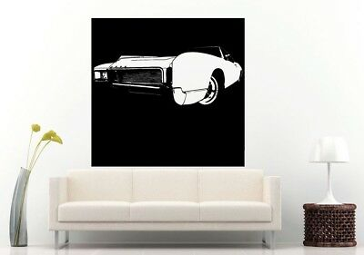 Wall Room Decal Vinyl Sticker American Muscle Old Antique Classic Sport Car L689