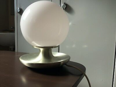 Lampada Tavolo Originale Epoca '70 Vintage Italy Design Space Age Home Interior