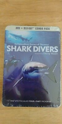 Shark Divers (Blu-ray/DVD, 2012, 3-Disc Set, DVD/Blu-ray)