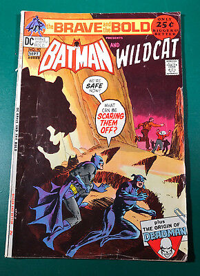 Brave and the Bold presents Batman and Wildcat #97 September 1971 FN 6.0