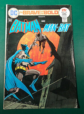 Brave and the Bold Batman and Man-Bat #119 June 1975 FN  6.0