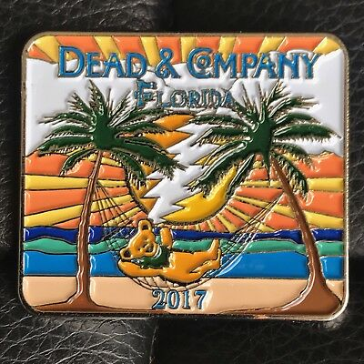 Dead And Company 2017 Florida Pins ....Appendix Removal Sale ! 3 pins for $20