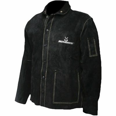 "Caiman Black Boarhide - 30""Jacket, Welding-Apparel Medium"