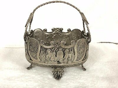Pre- Owned Solid Silver Persian Iranian Silver Candy Bowl