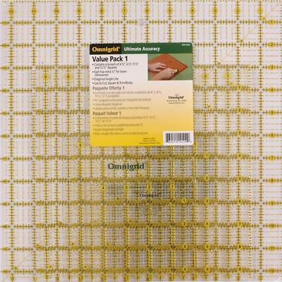 Omnigrid Ruler Value Pack 1, Package of Four