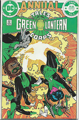 DC Comics- Annual Tales of the Green Lantern Corps #1, 1985