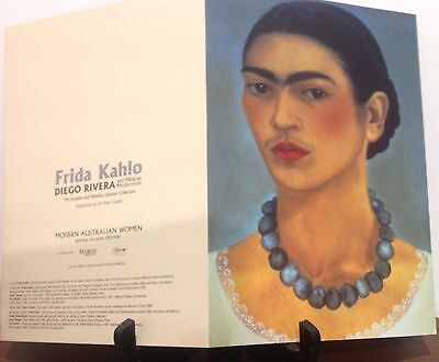 FRIDA KAHLO DIEGO RIVERA programme National Gallery of Australia 2001 Mexican