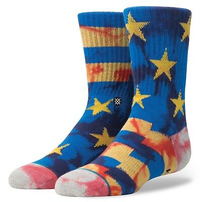 Stance Boy's Sidereal Crew Sock - Black - Large - B526A16SID-BLK