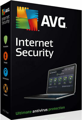AVG Internet Security 2018 1 pc 1 year|Global key|Instant delivery