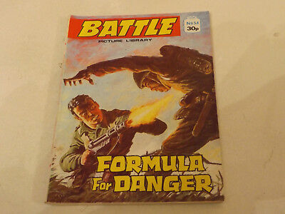 BATTLE PICTURE LIBRARY NO 54,dated 1987!,V GOOD FOR AGE,VERY RARE,30 yrs old.