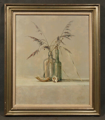 Early 20th Century American Oil Painting Still-Life signed James Del Grosso
