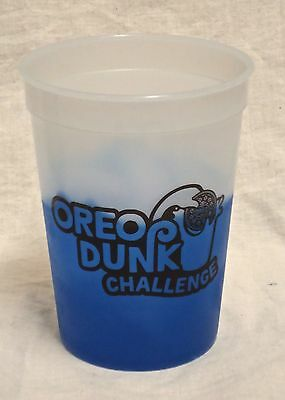 Set of 4 Oreo Dunk Challenge Color Changing Plastic Cups. Show Us Your Dunk.